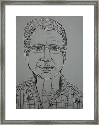 Pete Framed Print by Pete Maier