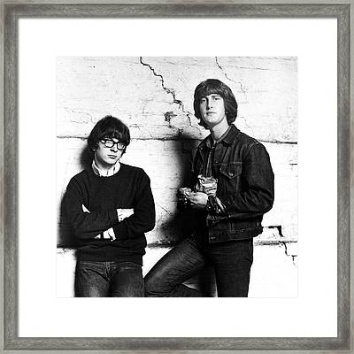 Peter And Gordon 1964 Framed Print