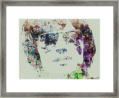 Peter Fonda Easy Rider Framed Print by Naxart Studio