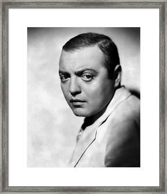 Peter Lorre, 1935 Framed Print by Everett
