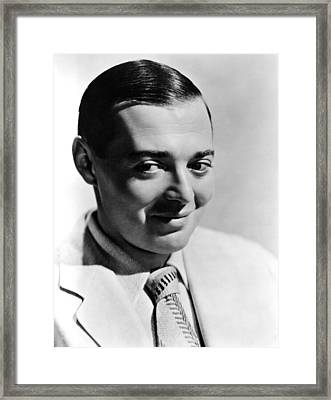 Peter Lorre, Ca. 1930s Framed Print by Everett
