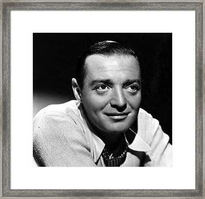 Peter Lorre, Ca. 1940s Framed Print by Everett
