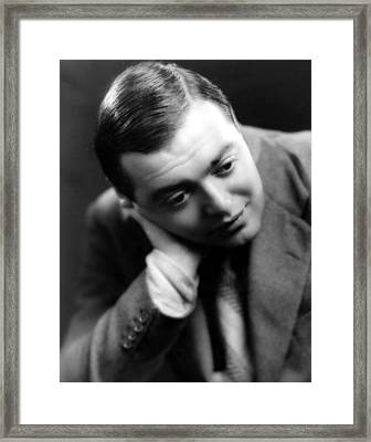 Peter Lorre, Photo Dated 1935 Framed Print by Everett
