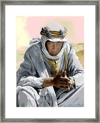Peter Otoole Framed Print