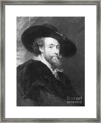 Peter Paul Rubens Framed Print by Granger
