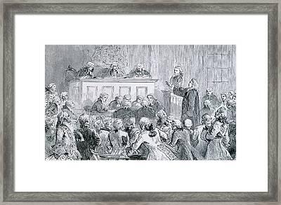 Peter Zenger, A Colonial New York Framed Print
