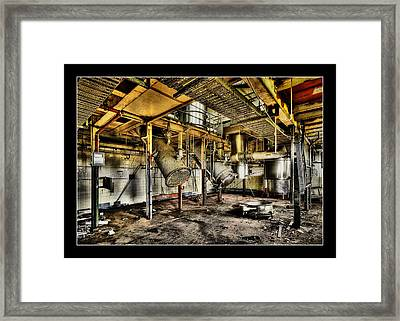 Framed Print featuring the digital art Peters Factory 03 by Kevin Chippindall
