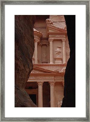 Petra Framed Print by David George