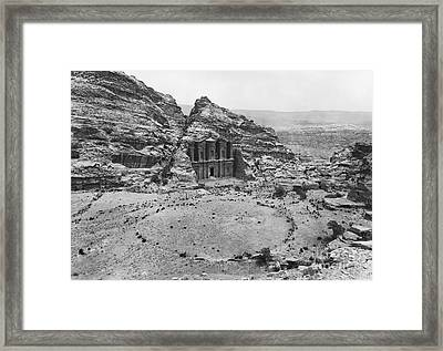 Petra, Jordan Framed Print by Photo Researchers