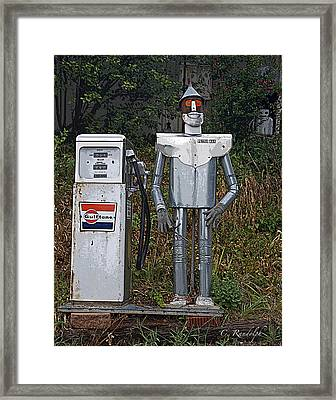 Petro Man Framed Print by Cheri Randolph