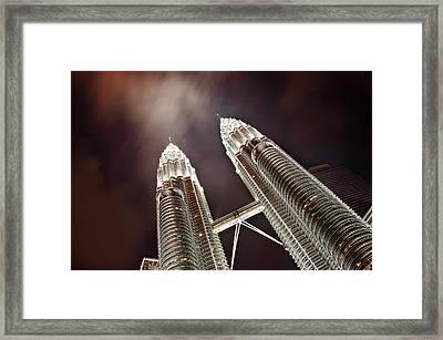 Petronas Towers Framed Print by Smerindo_schultzpax