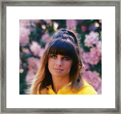 Petulia, Julie Christie, 1968 Framed Print by Everett