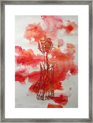 Pexy Framed Print by Kyle Ethan Fischer