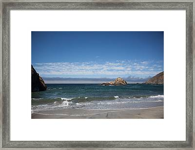 Pfeiffer Beach Framed Print by Ralf Kaiser