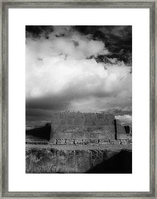 Phaistos Infrared Framed Print by Andonis Katanos