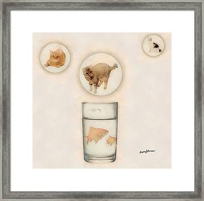 Phantasmagoria Framed Print by Anthony Caruso