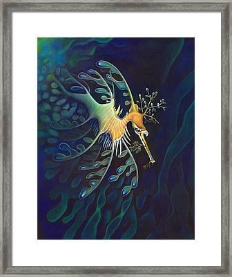 Phantasmagoric Conception Framed Print by Sym