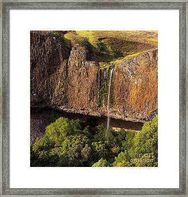 Phantom Falls In Late Afternoon Framed Print