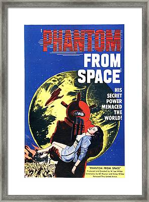 Phantom From Space, Noreen Nash, 1953 Framed Print by Everett