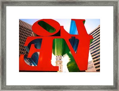 Philadelphia Framed Print by Claude Taylor