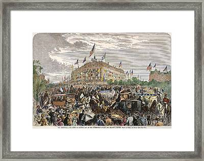 Philadelphia Expo, 1876 Framed Print by Granger