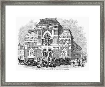 Philadelphia: Museum, 1876 Framed Print