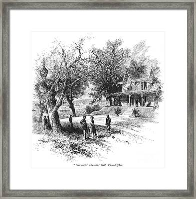 Philadelphia: Norwood Framed Print by Granger