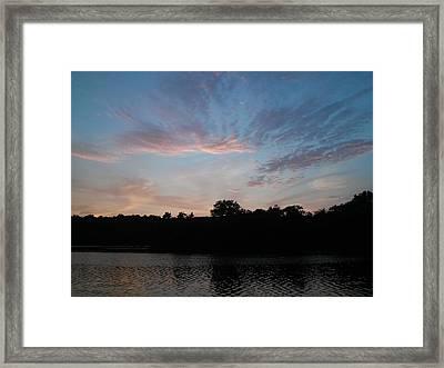 Philadelphia Skys Framed Print