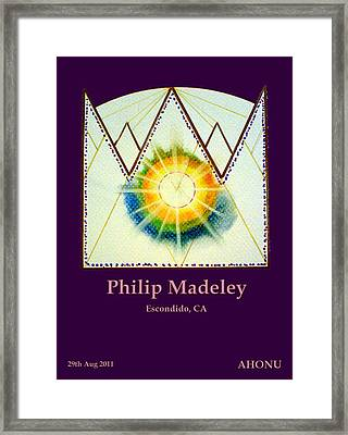 Philip Madeley Framed Print