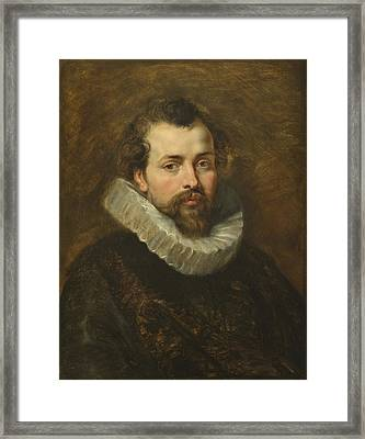 Philippe Rubens - The Artist's Brother Framed Print