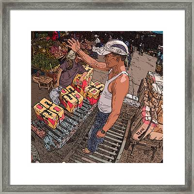 Philippines 3031 Muscles Framed Print