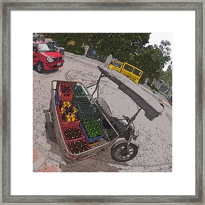 Philippines 5397 Soft Drinks And Beer Delivery Framed Print