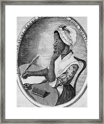 Phillis Wheatley 1753-1784, The First Framed Print by Everett