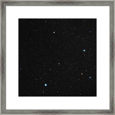 Phoenix Constellation Framed Print by Eckhard Slawik
