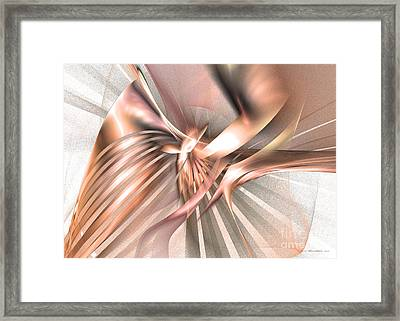 Phoenix Of The Future Framed Print by Abstract art prints by Sipo