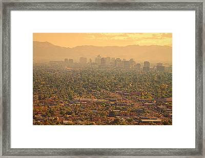 Phoenix Valley Of The Sun Framed Print