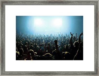 Photo Of Audience Framed Print