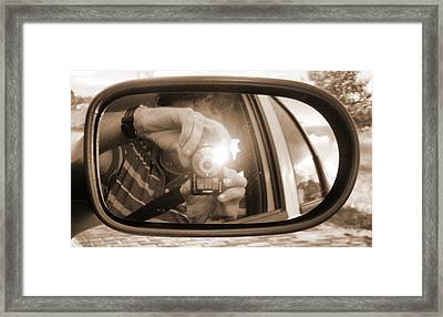 Photographer Framed Print by Beto Machado