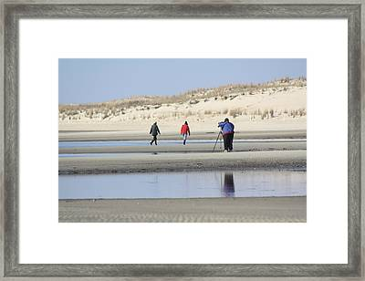 Photographing Wildlife Framed Print