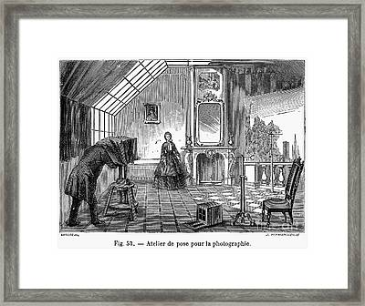 Photography, 1876 Framed Print by Granger