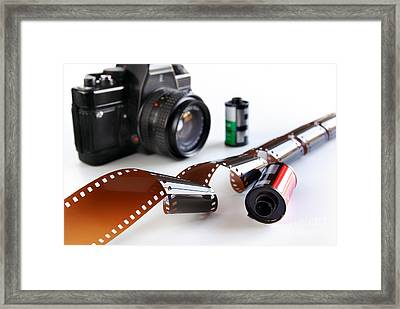 Photography Gear Framed Print by Carlos Caetano
