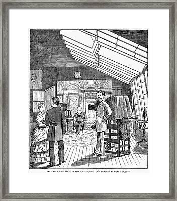 Photography Studio, 1876 Framed Print by Granger