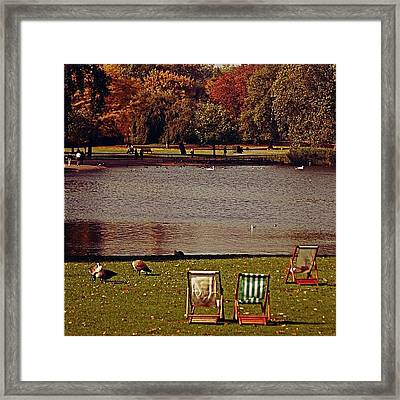 #photooftheday #london #regentspark Framed Print