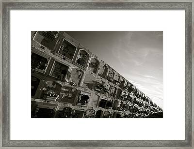 Pick A Box Framed Print by Jez C Self