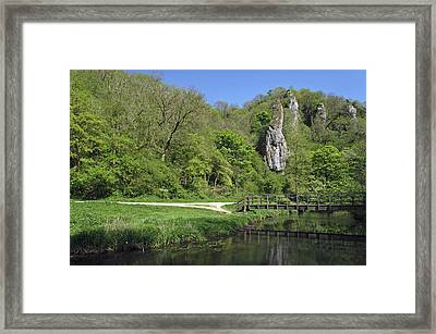 Pickering Tor - Dovedale Framed Print by Rod Johnson