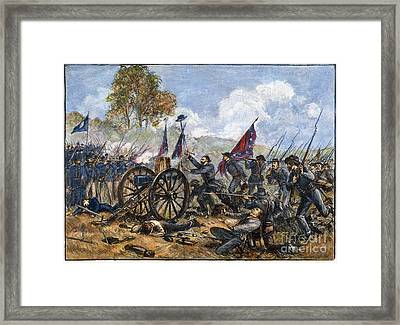 Picketts Charge, 1863 Framed Print by Granger