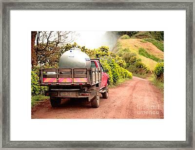 Pickup Truck Framed Print