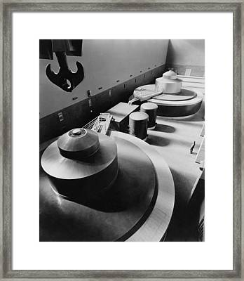 Pickwick Dams First Turbine Generators Framed Print by Everett