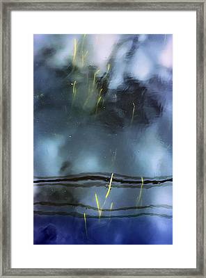 Picture Of Water Framed Print by Marisa Matis