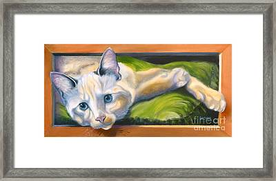 Picture Purrfect Framed Print